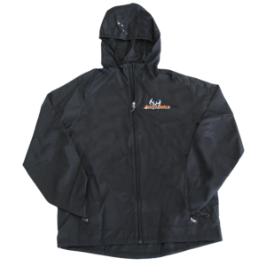Ani-Logics Black Packable Jacket
