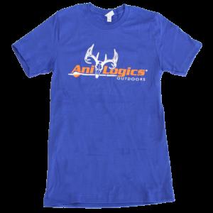 Ani-Logics Royal Blue T-Shirt