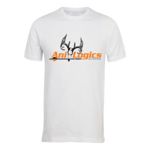 Ani-Logics White T-Shirt