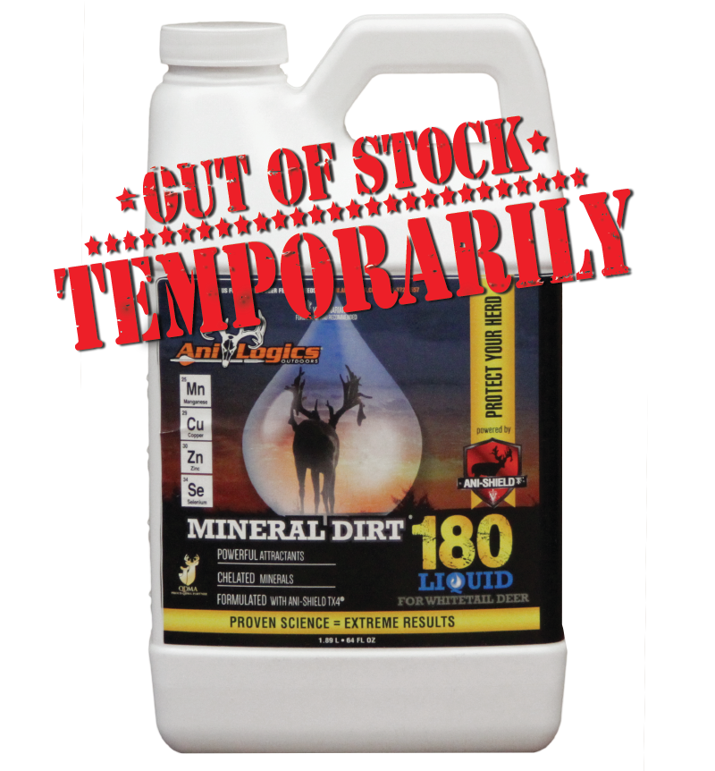 Liquid mineral dirt 180 1 gallon ani logics whitetail for What minerals are in dirt