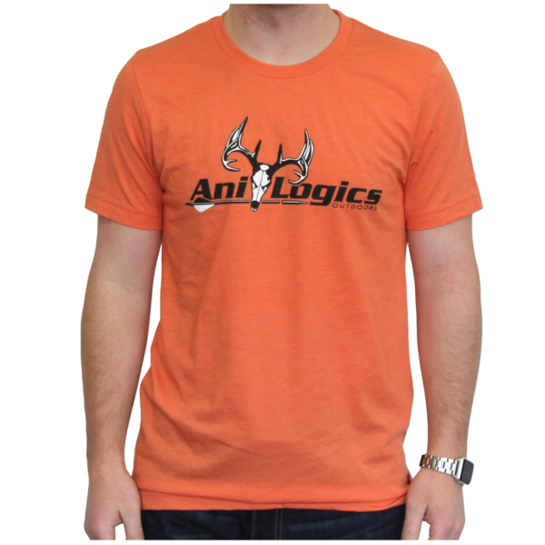 Orange T-shirt - Men's Front