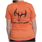 Orange T-shirt – Women's Back