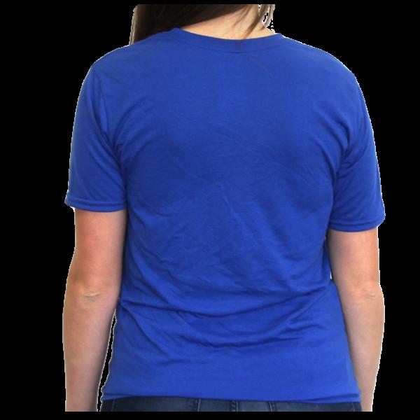 Royal Blue Ani-Logics™ T-Shirt – Ani-Logics-Whitetail Deer Feed ...