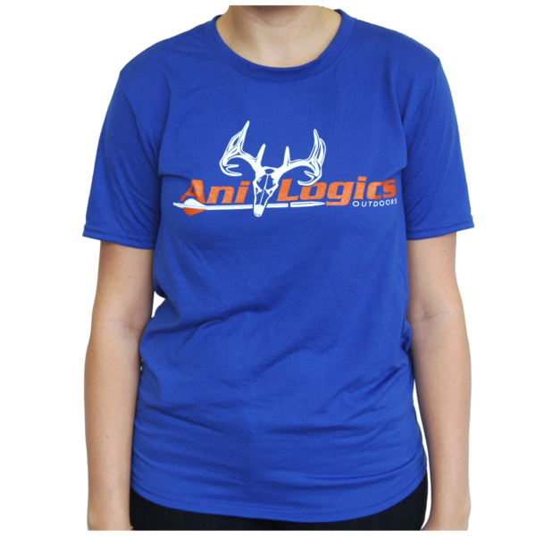 Royal Blue Ani-Logics™ T-Shirt - Ani-Logics-Whitetail Deer Feed ...