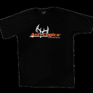 Ani-Logics Mens Black Tshirt