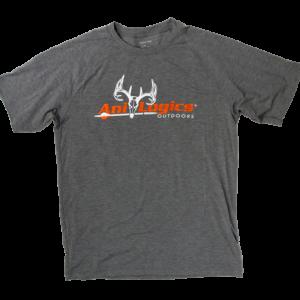 Ani-Logics Mens Light Grey T-shirt