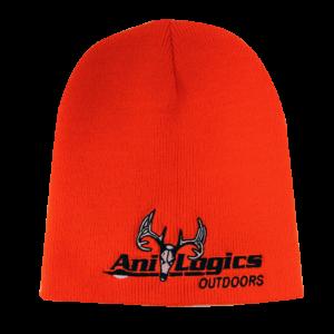 Ani-Logics Blaze Orange Beanie