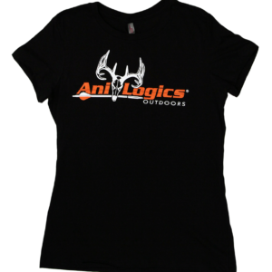 Ani-Logics Womens Black Tshirt
