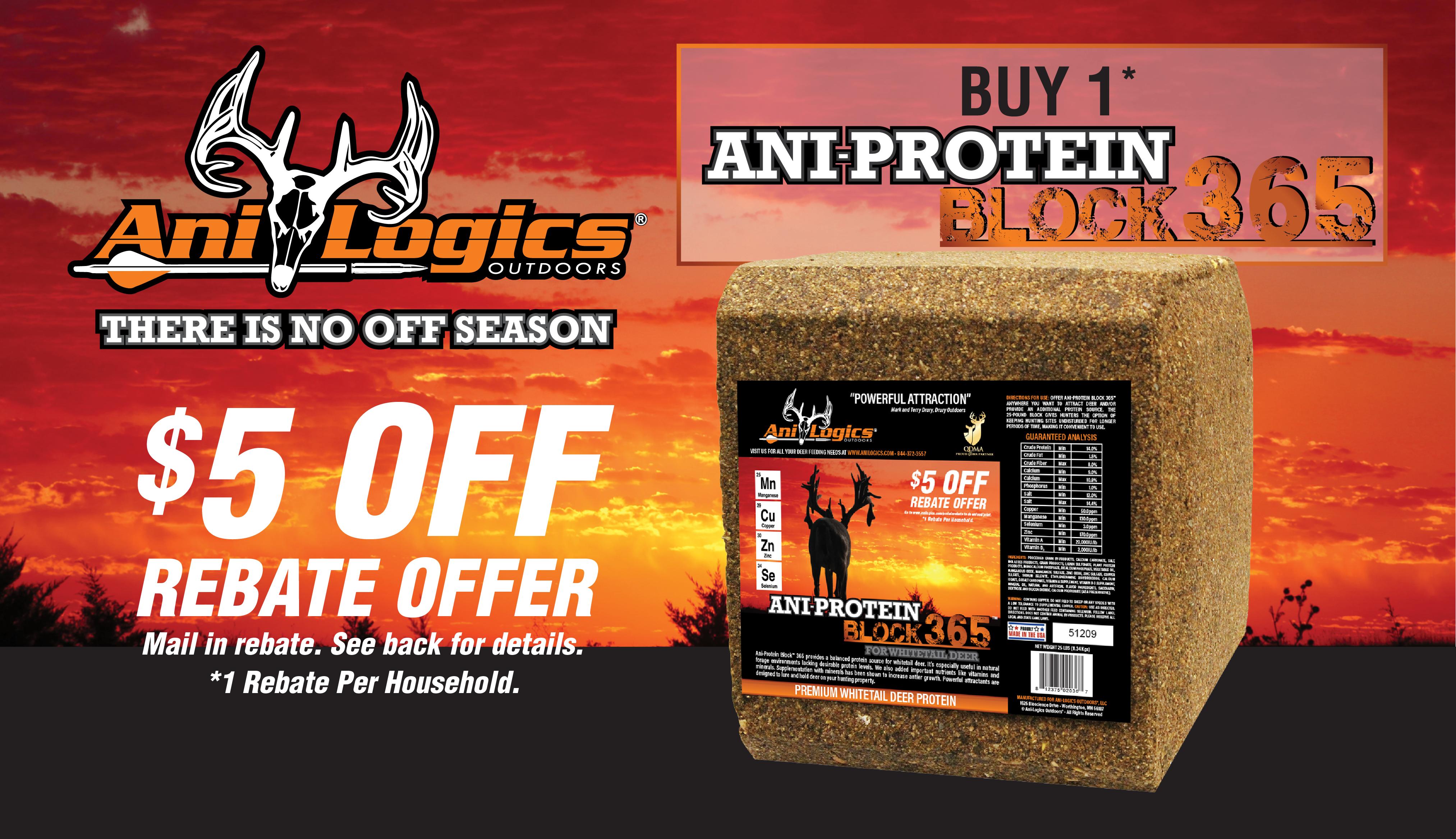 Ani-Logics™ $5 Rebate - Protein