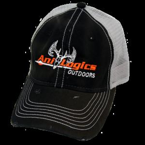 Ani-Logics Black Grey Mesh Back Hat