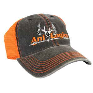 Ani-Logics Orange & Gray Trucker Hat