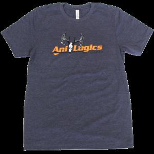 Ani-Logics Heather Dark Blue T-Shirt