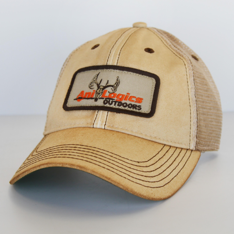 Ani-Logics Dirty Tan Trucker Hat  7b0ab17a97b