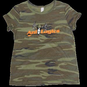 Ani-Logics Women's Camo T-Shirt